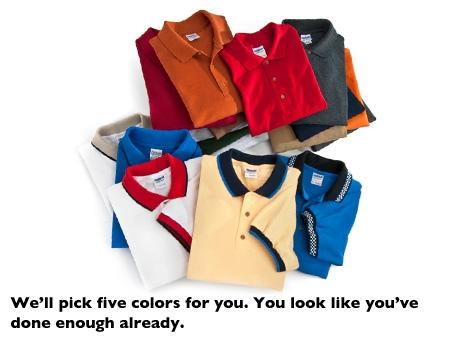Sport Shirt - 5 Pack